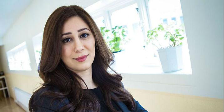 Anahid Khaneie arbetar som psykolog vid den rättspsykiatriska undersökningsenheten i Göteborg.