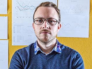 Andreas Tillmar, forskare och molekylärbiolog inom rättsgentik