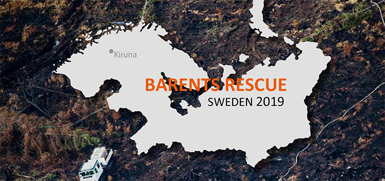 rmv-rättsmedicinalverket deltog i barents rescue week 2019