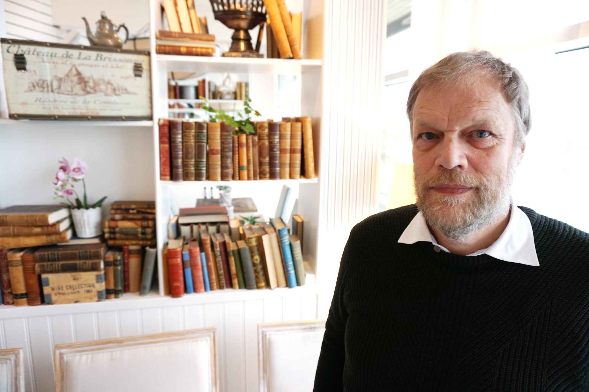 Christer Bengtsson, vävnadsmottagare som fick nya hornhinnor på båda ögonen och återfick synen.