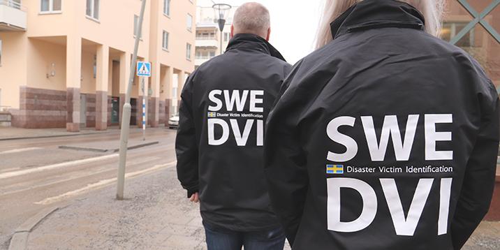 Disaster victim identification DVI med jackorna på