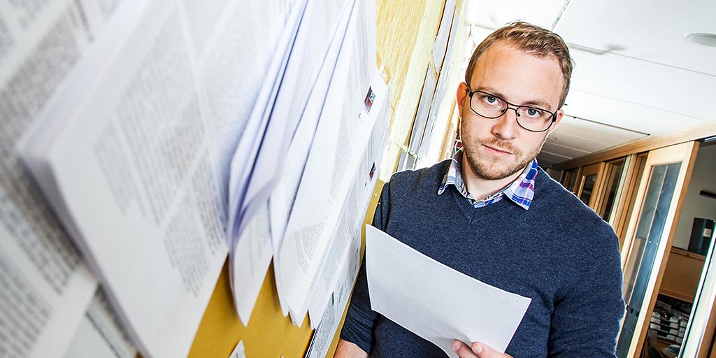 Andreas Tillmar, forskare rättsgenetik