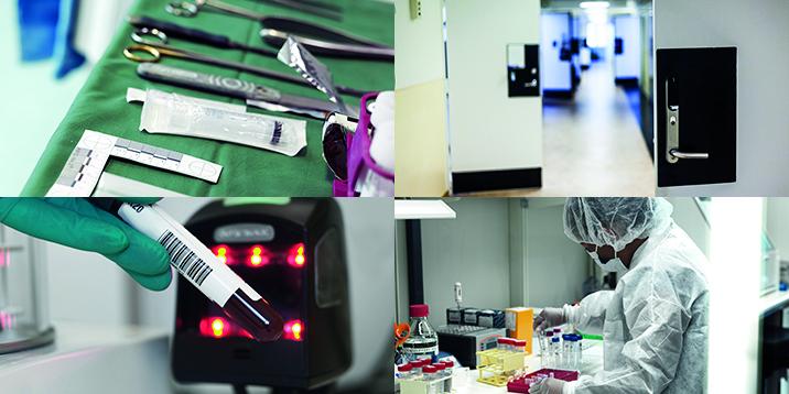 verktyg sax dörr laboratorium blodprov