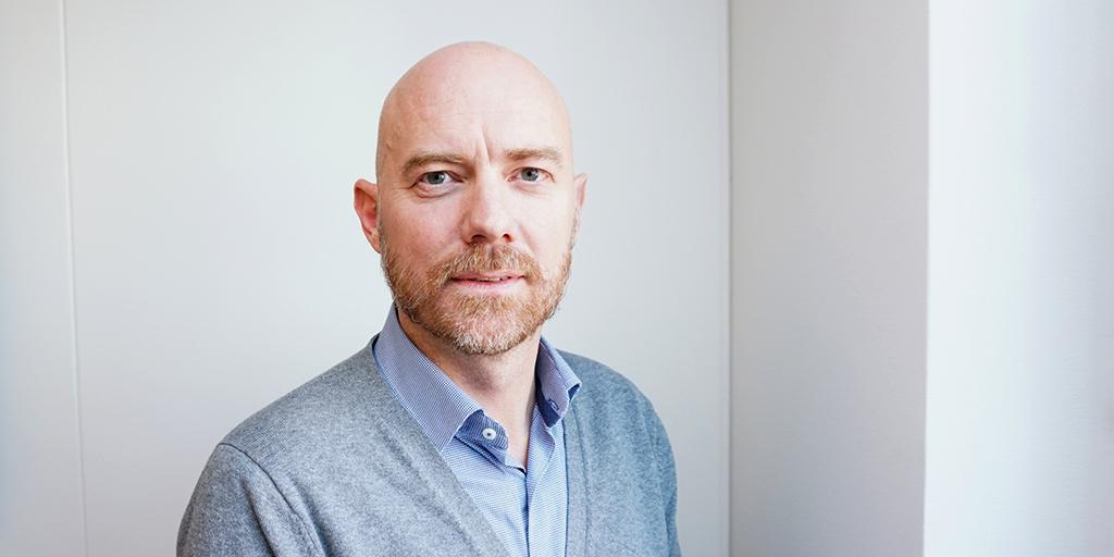 Jesper, samordningschef för rättsmedicin