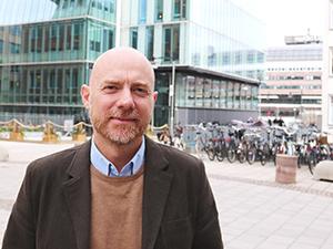 Jesper Greby, ansvarig för vävnadsdonation och tillvaratagande vid RM Lund.