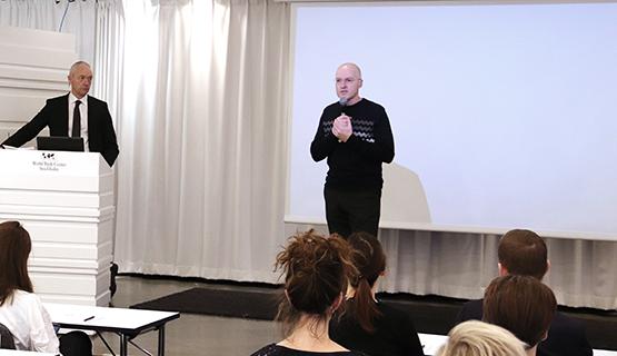 Lars Werkström och Robert Kronstrand