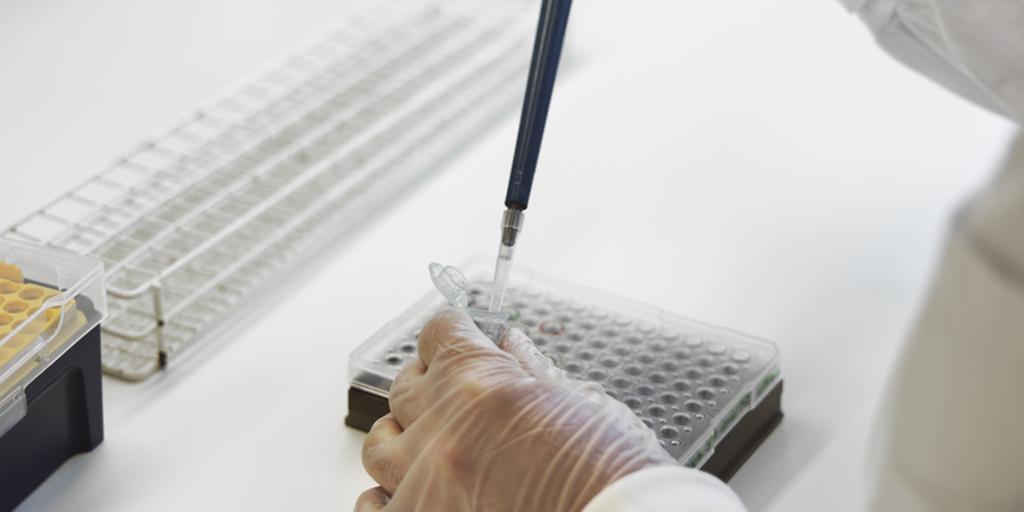 DNA-undersökning på rättsgenetiska laboratoriet