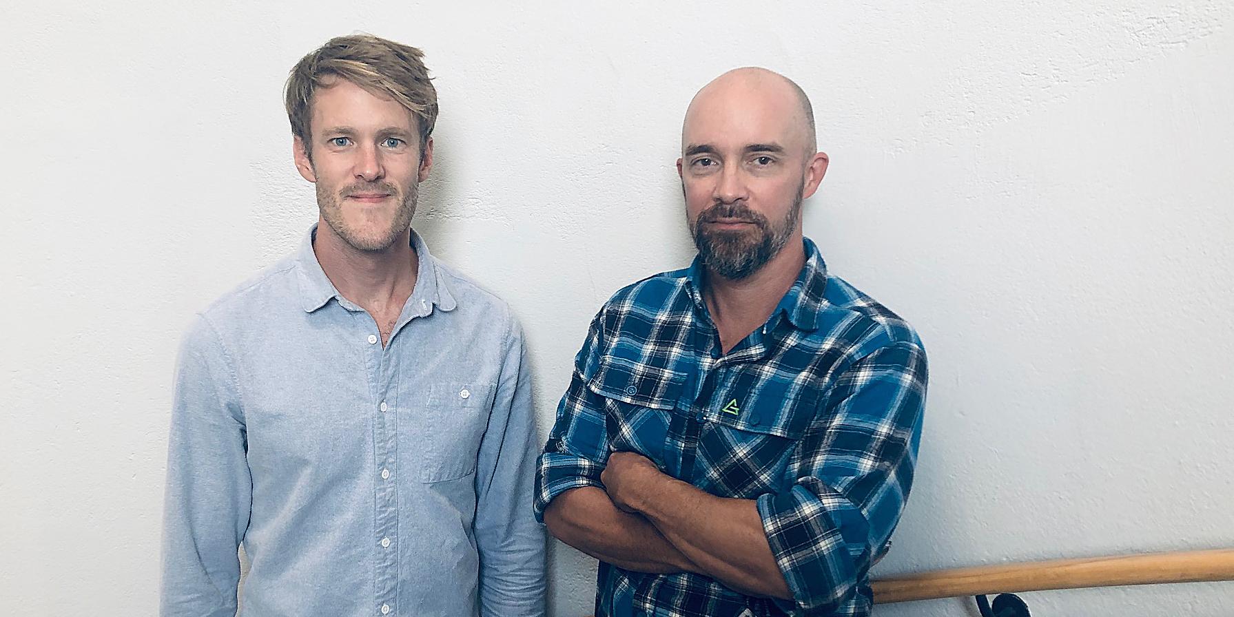 Porträtt på Daniel Wallroth, ST-läkare och Ragnar Edman Kessler, rättsläkare, båda arbetar på den rättsmedicinska enheten i Stockholm.