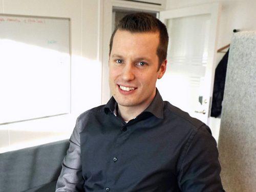 IT-projektledare Rickard Lindfors