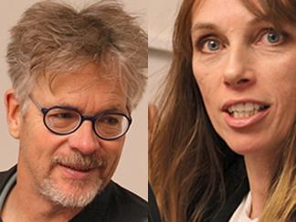 Brita Zilg, specialistläkare i rättsmedicin (rättsläkare) och Martin Csatlós, specialistläkare i rättsmedicin (rättsläkare). Båda arbetar vid Rättsmedicinalverket