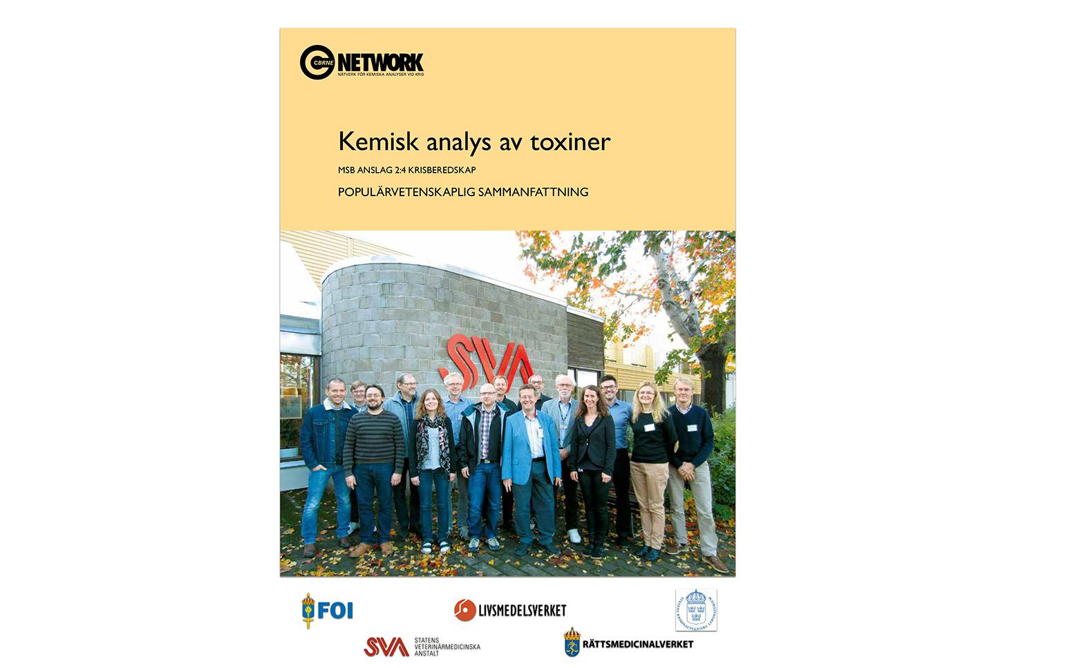 Kemisk analys av toxiner