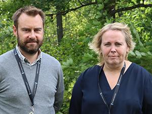 rmv-rättskemi-Fredrik Kugelberg och Marie-Louise Hallingström