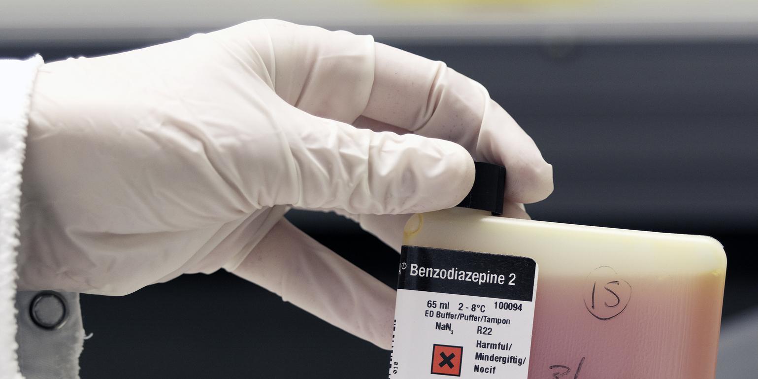 Rättskemiska analys av bensodiazepiner