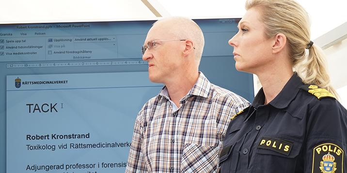 rmv-robert kronstrand och linda staaf-polisen i almedalen